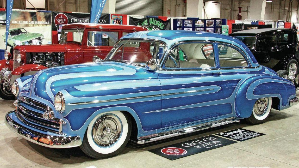 1949 Chevrolet Chevy Styleline Deluxe Custom Hot Rod USA 1600x900 wallpaper