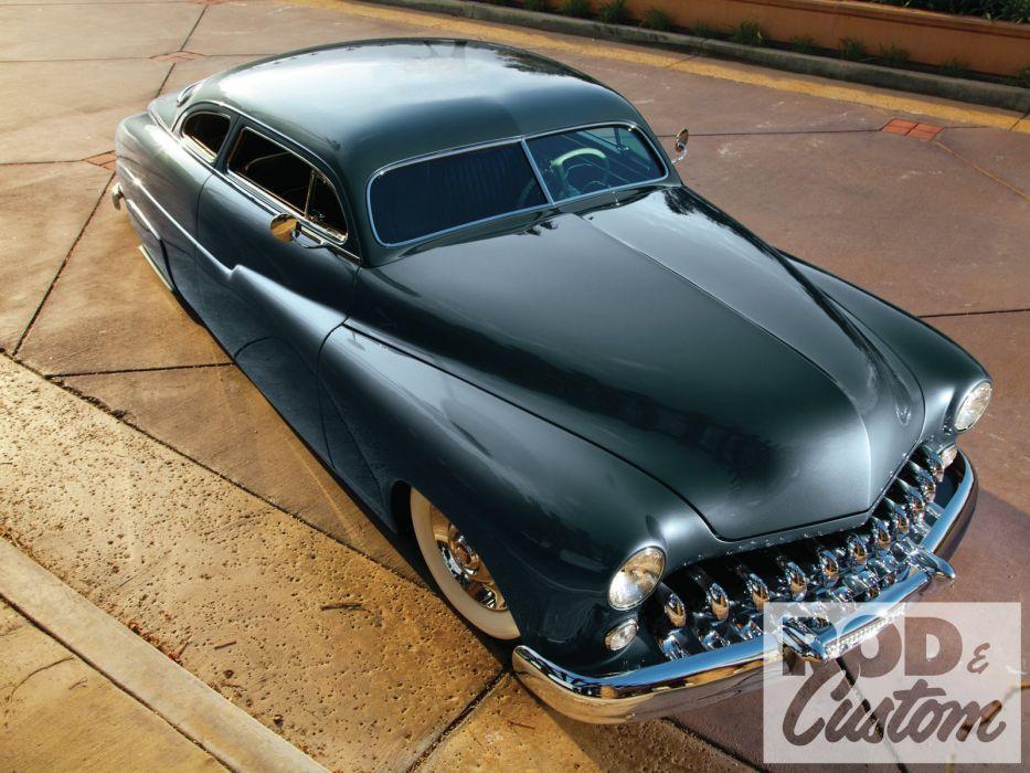 1949 Mercury Leadsled Coupe Custom Lowrider USA 1600x1200 (01) wallpaper
