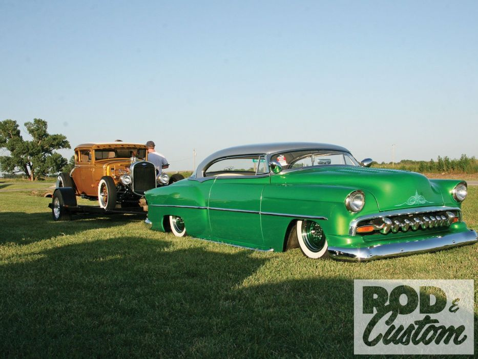 1954 Chevrolet Chevy Leadsled custom USA 1600x1200 (01) wallpaper