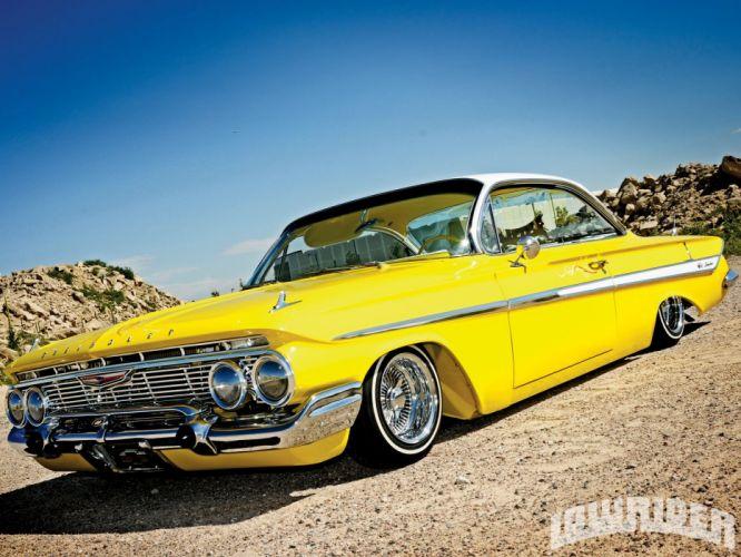 1961 Chevrolet Chevy Impala Custom Lowrider USA 1600x1200 (01) wallpaper