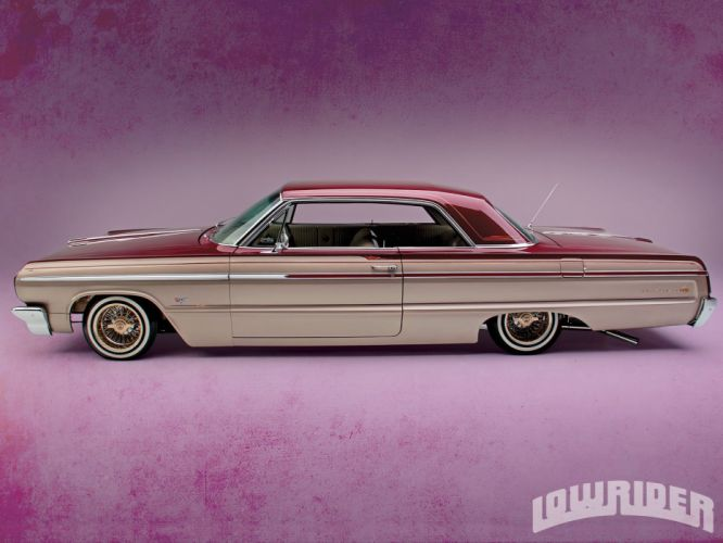 1964 Chevrolet Chevy Impala Custom Lowrider USA 1600x1200 (03) wallpaper