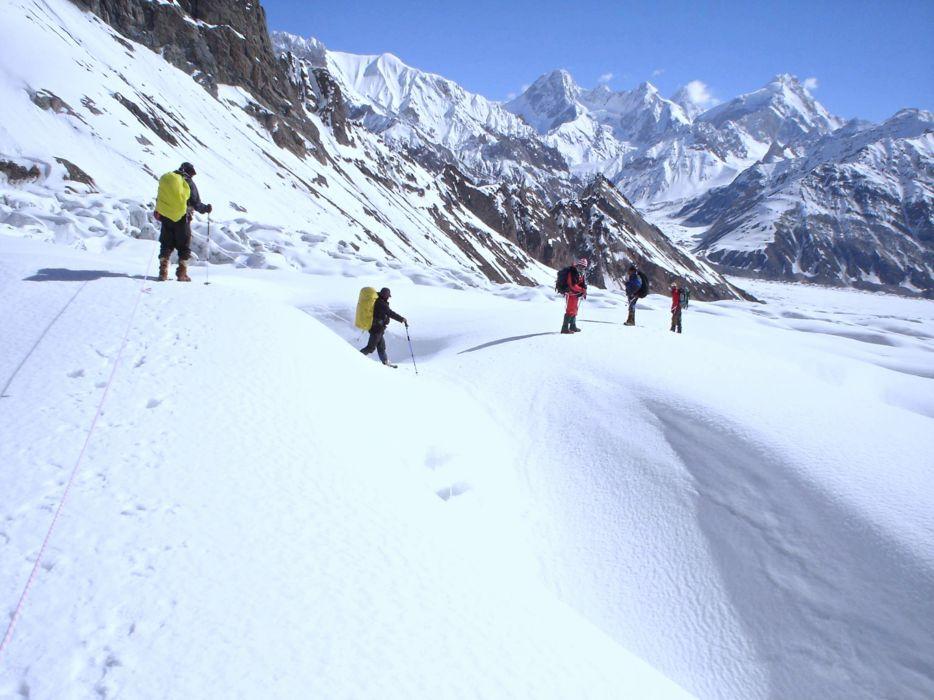 Cloud - Cold - high - snow - landscape - mountains - nature - pakistan - Adventure - winter - trip wallpaper