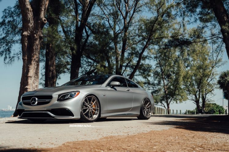 2015 ADV1 cars coupe tuning wheels MERCEDES S63 AMG RENNTECH wallpaper