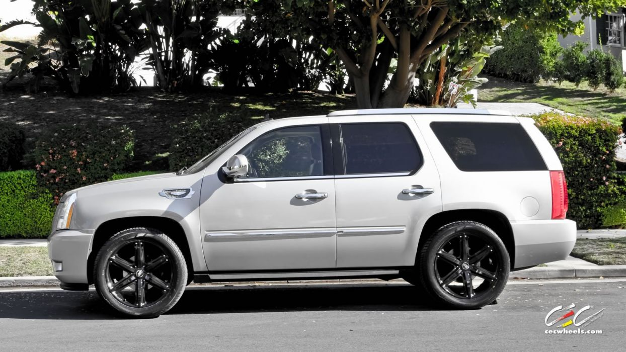 2015 cars CEC Tuning wheels Cadillac Escalade suv wallpaper