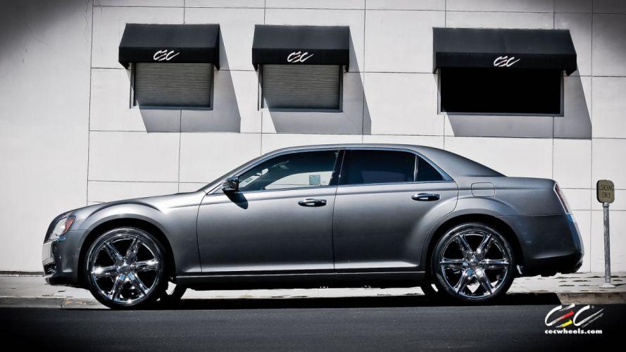 2015 cars CEC Tuning wheels Chrysler 300 wallpaper