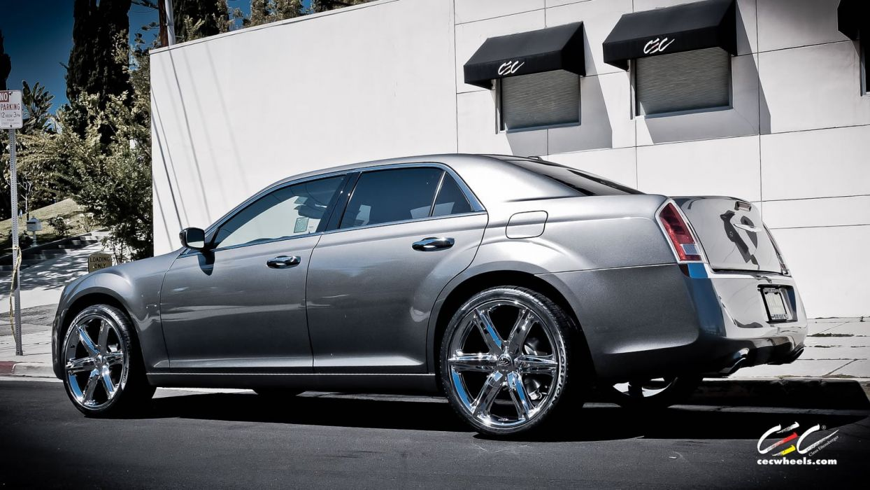 black photo fully mods chrysler custom exterior by forged vossen with wheels and gallery loaded on