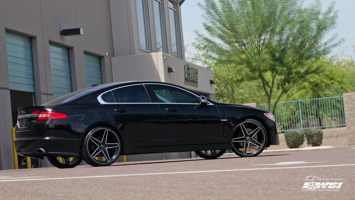 2015 cars CEC Jaguar XF sedan Tuning wheels wallpaper