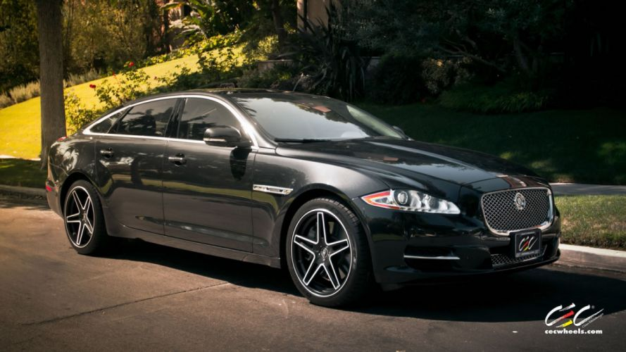 2015 cars CEC Jaguar XJL sedan Tuning wheels wallpaper