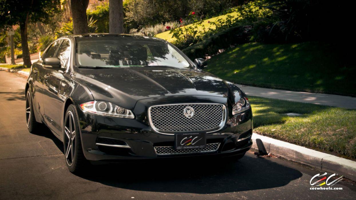 2015 cars CEC Jaguar XJL sedan Tuning wheels wallpaper