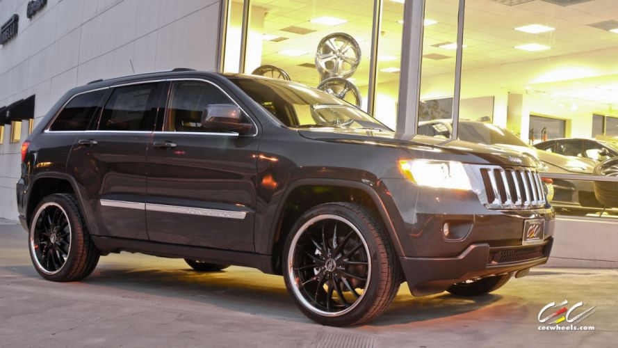 2015 cars CEC Jeep Grand Cherokee suv Tuning wheels wallpaper