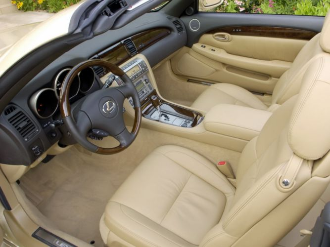 Lexus SC 430 cars convertible wallpaper