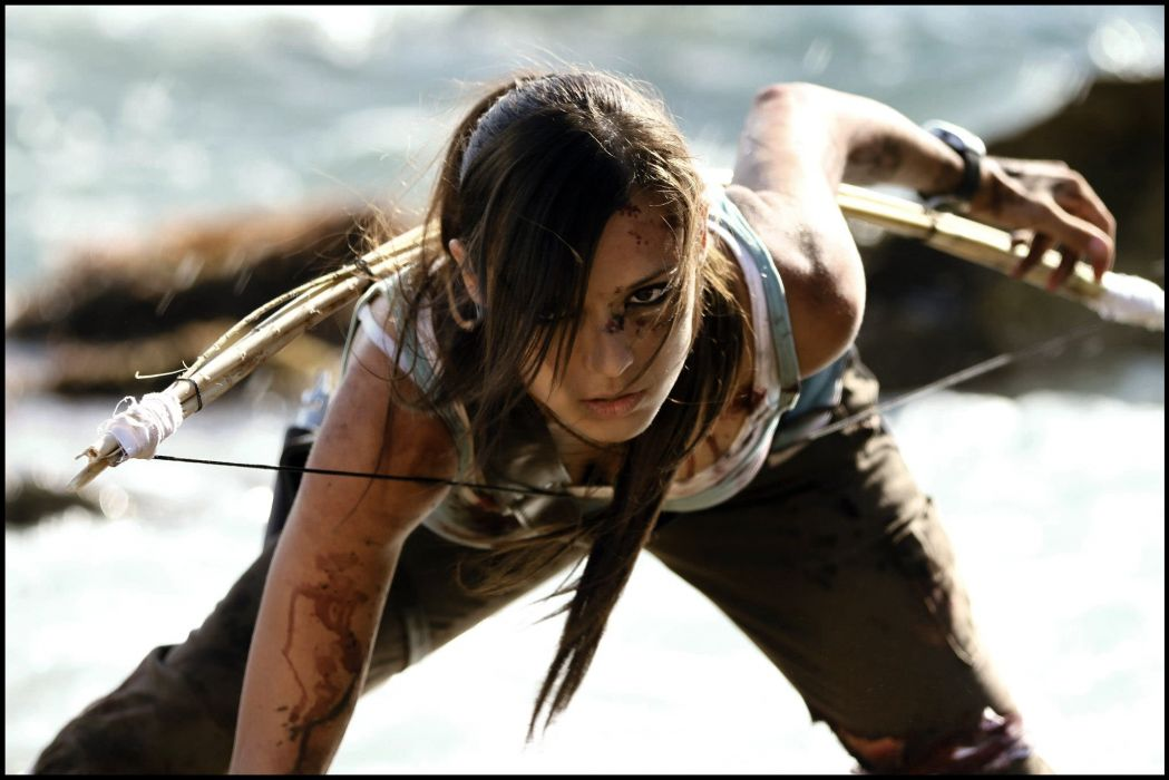 LARA CROFT action adventure tomb raider platform fantasy girl girls warrior cosplay wallpaper