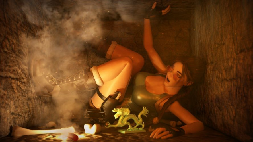 LARA CROFT action adventure tomb raider platform fantasy girl girls warrior wallpaper
