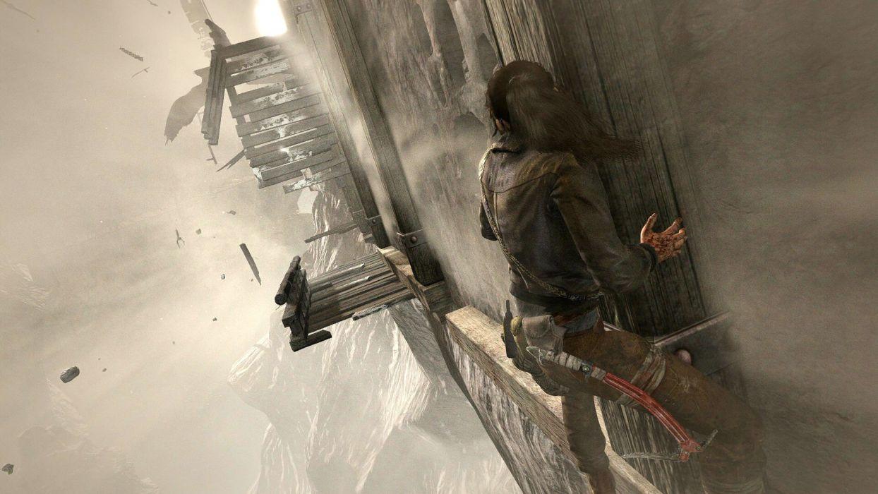 LARA CROFT action adventure tomb raider platform fantasy girl girls warrior wallpaper