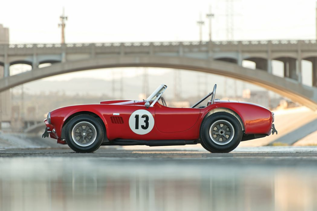 Shelby Cobra 289 Factory Competition 1964 wallpaper