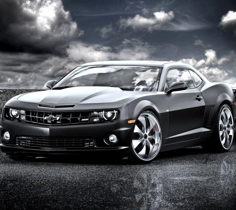 Black Camaro wallpaper