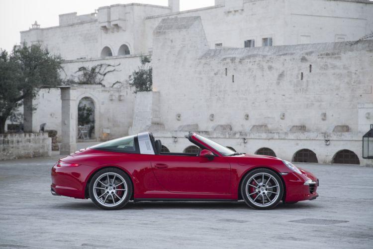 Porsche 911 Targa 4S (991) 2014 coupe cars wallpaper