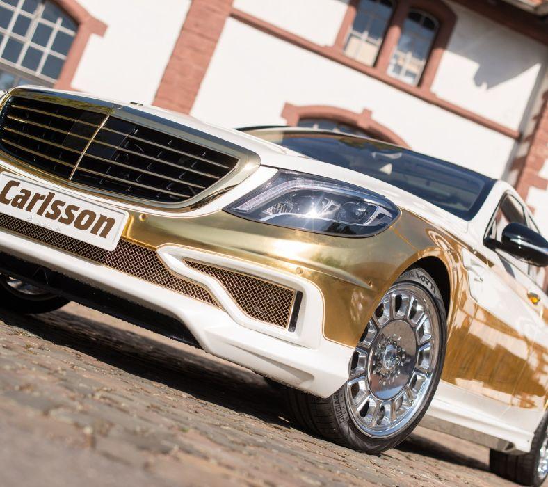 Gold Benz wallpaper