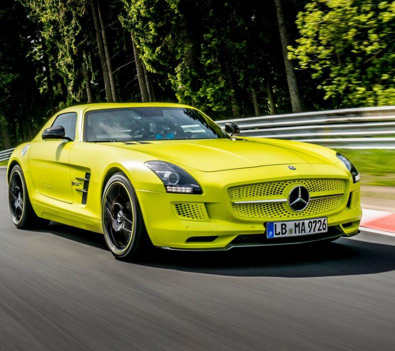 Mercedes Benz SLS E wallpaper