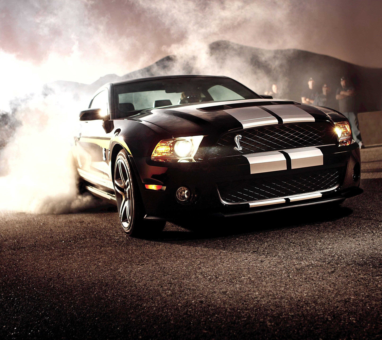 Ford Car Wallpaper: Smoke Stang Wallpaper