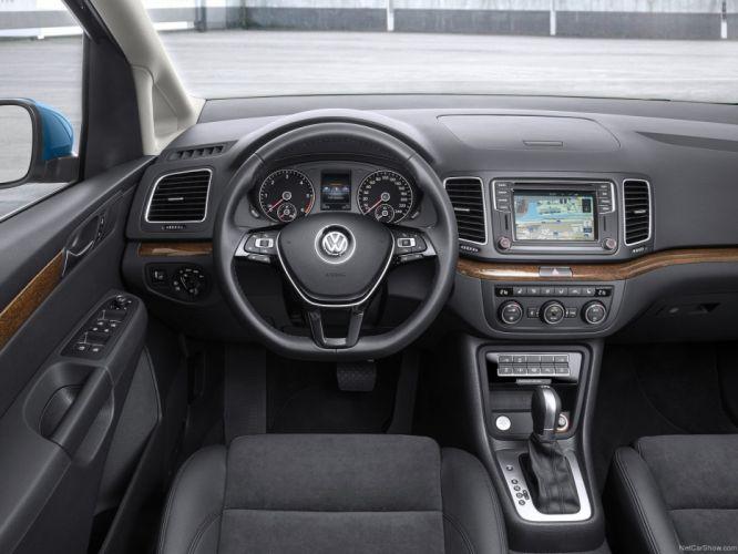 Volkswagen Sharan 2016 cars wallpaper