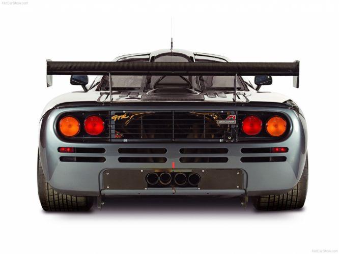 1995 GTR McLaren F 1 Race Racing Supercar wallpaper