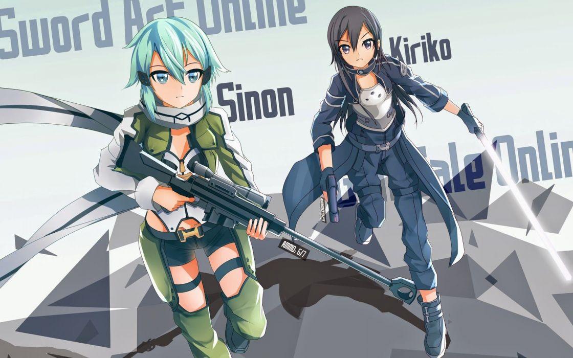 Sword Art Online Ii Animation Fighting Sci Fi Japanese Anime 1saoll Fantasy Warrior Wallpaper 1600x1000 626093 Wallpaperup