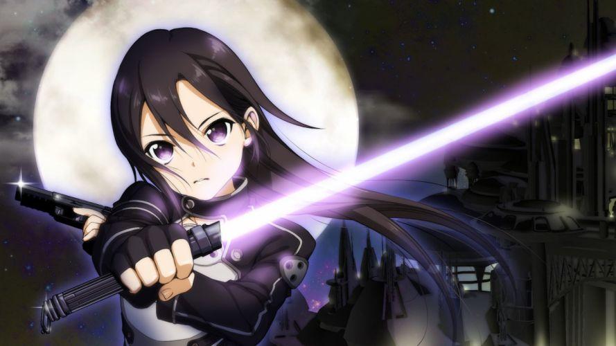 SWORD ART ONLINE II animation fighting sci-fi japanese anime 1saoll fantasy warrior wallpaper