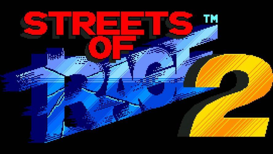 STREETS Of RAGE Ikari no Tekken action fighting arena scrolling wrestling boxing martial 1sor nintendo sega wallpaper