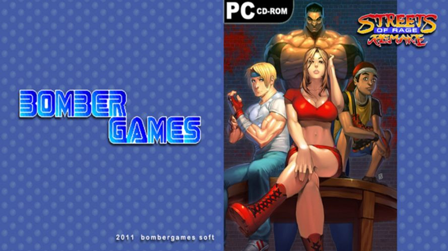 STREETS Of RAGE Ikari no Tekken action fighting arena scrolling wrestling boxing martial 1sor nintendo sega wallpaper