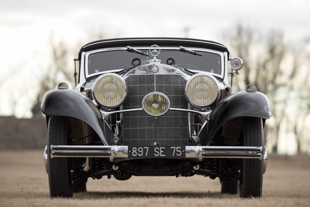 540K Cabriolet A classic cars wallpaper