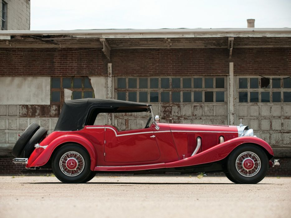 Mercedes Benz 500K Tourer by Mayfair 1934 classic cars wallpaper