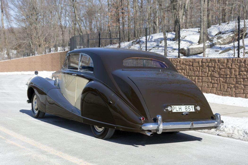 Rolls-Royce Silver Wraith 2-door Saloon 1952 classic cars wallpaper