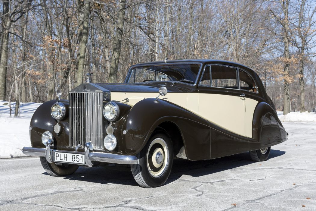 Rolls-Royce Silver Wraith 2-door Saloon 1952 classic cars wallpaper