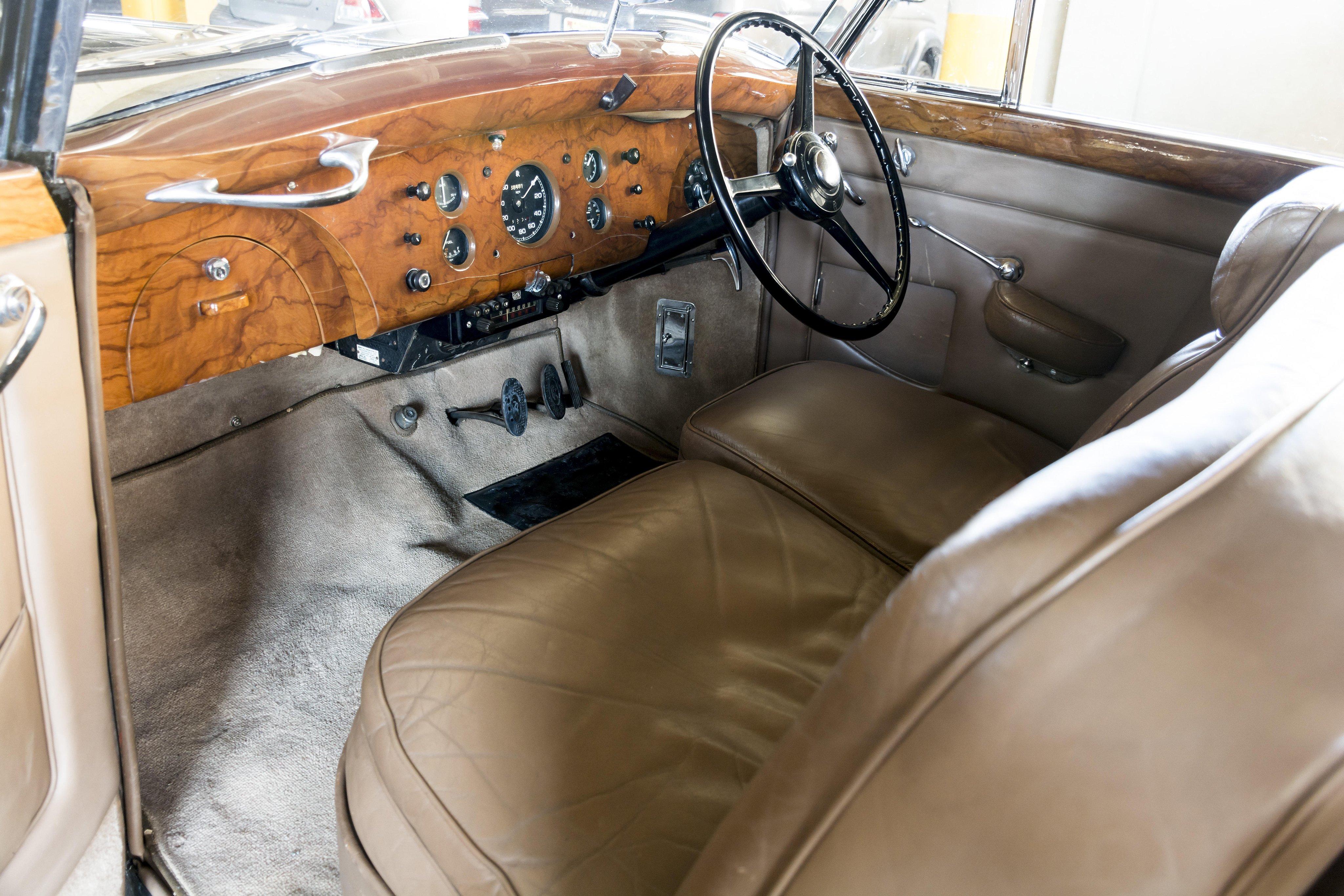 Rolls Royce Silver Wraith Interior Rolls-royce Silver Wraith