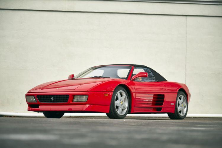 1993 Ferrari 348 Spider convertible classic cars wallpaper