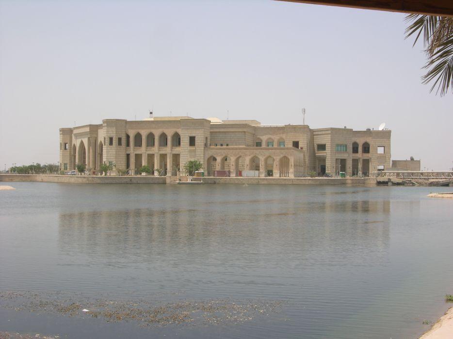 palacio-saddam hussein-bagdad-irak-asia wallpaper