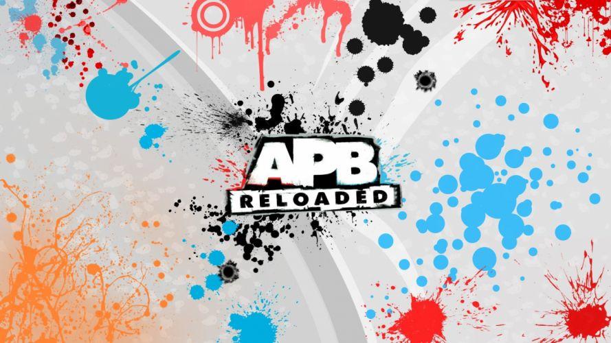 APB All Points Bulletin mmo online action adventure violence shooter 1apb punk cyberpunk warrior weapon gun wallpaper