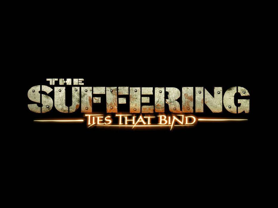 THE SUFFERING psychological horror survival dark action adventure 1suff wallpaper