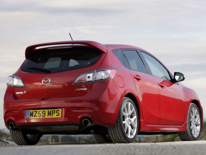 Mazda3 MPS UK-spec 2009 cars wallpaper
