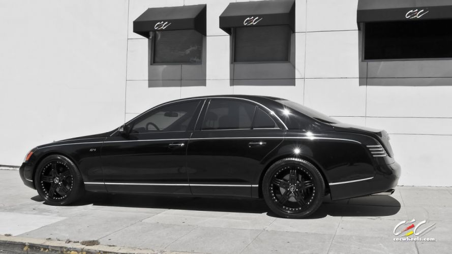 2015 cars CEC Tuning wheels Maybach 57s black wallpaper