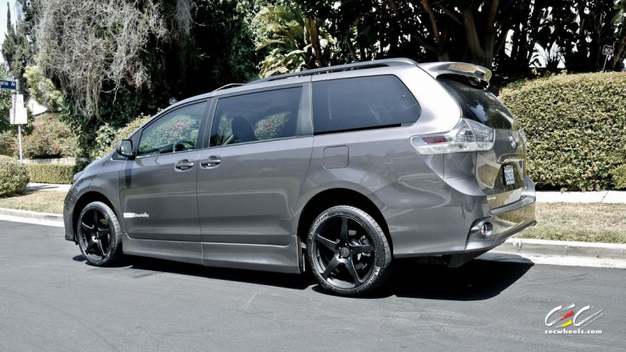 2015 cars CEC Tuning wheels Toyota Sienna wallpaper