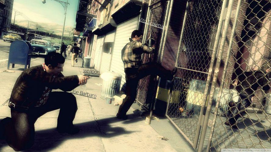 MAFIA II crime shooter action adventure fighting 1mafiall violence weapon gun wallpaper