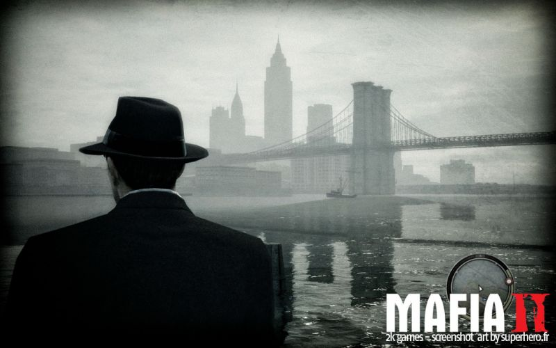 MAFIA II crime shooter action adventure fighting 1mafiall violence wallpaper
