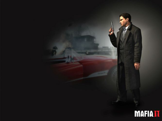 MAFIA II crime shooter action adventure fighting 1mafiall violence weapon gun wallpaper