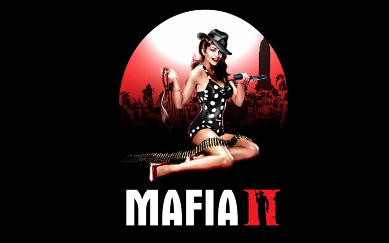MAFIA II crime shooter action adventure fighting 1mafiall violence sexy babe poster wallpaper