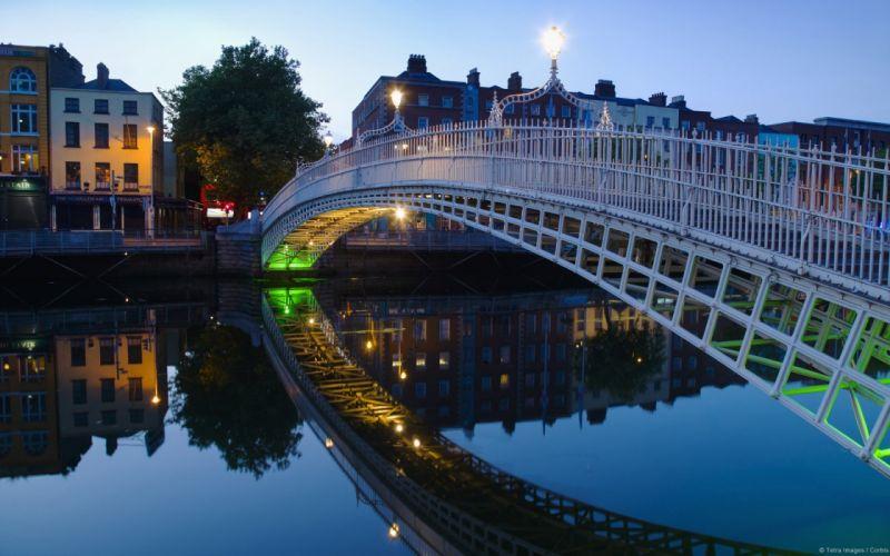 halfpenny-dublin-irlanda-puente-rio-europa wallpaper