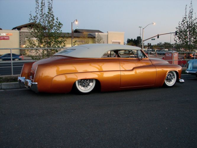Mercury classic cuctom lowrider cars retro wallpaper