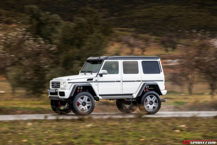 Mercedes G500 4x4A wallpaper