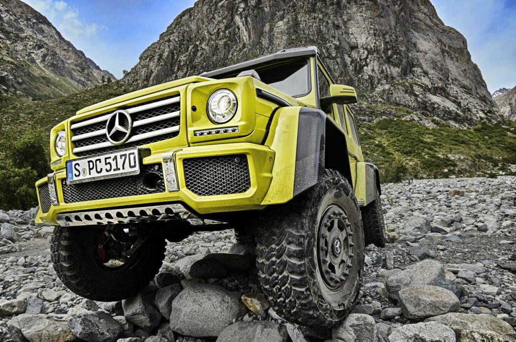 Mercedes G500 4x4A wallpaper